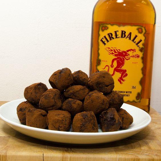 Kitchen: Fireball Whisky Truffles